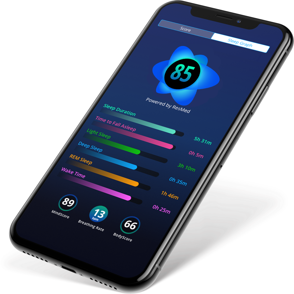 SleepScore Sleep Tracker App